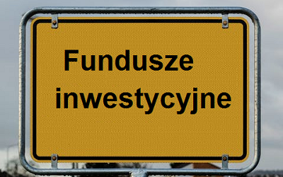 Fundusze inwestycyjne - znak drogowy.