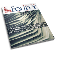 Equity Magazine nr 40 - okładka