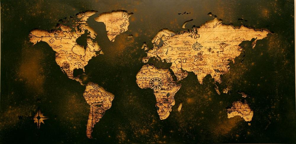 Rynki finansowe: mapa świata