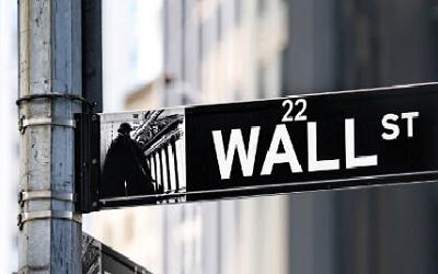 Zdjęcie - tabliczka Wall Street 22