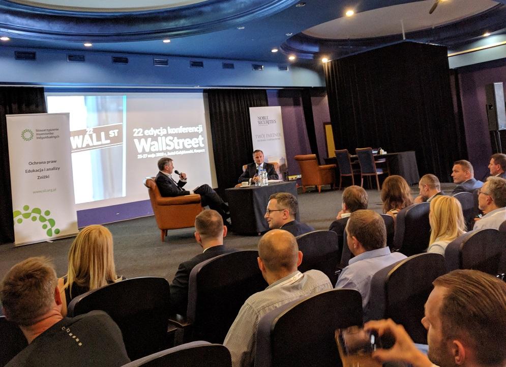 Wall Street 22 - spotkanie z Leszkiem Czarneckim